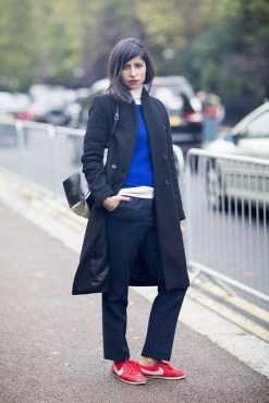 street style Bev Malik  ph: Vogue UK