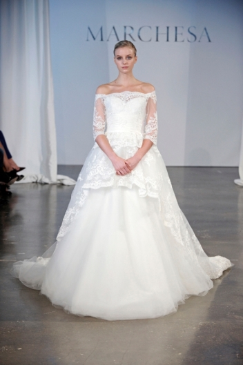 Marchesa Bridal Collection 2015