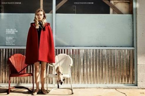 Vogue China October 2014 by Craig McDean